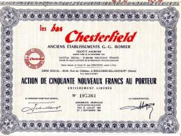 1960 - Action - Les Bas Chesterfield à Boulogne-Billancourt - FRANCO DE PORT - Textile