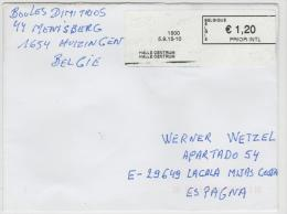 B337 / Automatenfrankatur 2015 - Briefe U. Dokumente