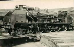 TRAIN PHOTO VILAIN 130915  -  PO 4578-  Locomotive Train Chemin De Fer - Trains