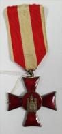 Croix Hanséatique De La Ville De Hambourg - Allemagne