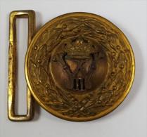 Boucle De Ceinturon D'officier Allemand WW1 - Uniformes