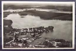 """Alte Karte """"Köriser See Mit Hafen""""  Teupitz 1937 - Dahme"""