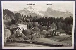 "Alte Karte ""Blick Auf BAD KOHLGRUB - Teufelstättkopf  Laubeneck""  1941 - Garmisch-Partenkirchen"