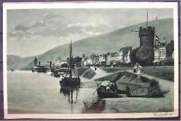 """Alte Karte """"RÜDESHEIM Am Rhein""""  1934 - Ruedesheim A. Rh."""