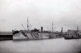 VESTALIA 2nd Convoy Troopship Carrying Australian Troops. Seen Here In England-19 Modern RPPC Postcard - Piroscafi