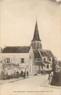 Cantonnement Militaire 1914-18 église écrite Par Un Soldat - Guyancourt