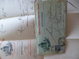 Facture Enveloppe Illustrée Comptoir Général Agricole  Montpellier. Ruche Et Abeilles Thème Agriculture Apiculture 1893 - Agricultura