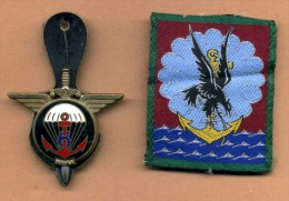 Lot Para - Insigne 6° RPIMa + écusson 11° DP - Armée De Terre