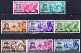 RWA+ Ruanda 1966 Mi 193-200 Mnh UNESCO - Rwanda