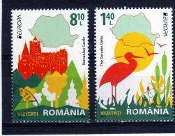 RUMANIA / ROMANIA / ROUMANIE  Año 2012  Yvert Nr.  Usada  Europa CEPT - 1948-.... Repúblicas