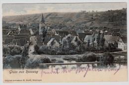 """B.W., 1911, """" Gruss Aus Rosswag """"  , #3465 - Other"""