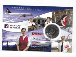 Macau Macao 2004 Air Macau 10th Anniversary S/S MNH - 1999-... Région Administrative Chinoise