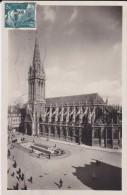 14----CAEN---l'église Saint Pierre Et La Place Saint Pierre---voir 2 Scans - Caen