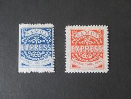Samoa Express 2 Marken ** / MNH. Ehemalige Kolonie! Schöne Marken!! - Samoa