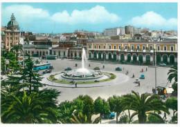 # CARTOLINA PUGLIA BARI – STAZIONE CENTRALE  VIAGGIATA 1962 VERSO IMPERIA  – INDIRIZZO OSCURATO PER PRIVACY CONDIZIONI B - Bari