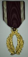 "Belgique Belgium "" Order Of The Crown Golden Palms "" 1908 Gold Plated - Belgique"