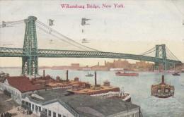 New York  - Williamsburg Bridge - Scan Recto-verso - New York City