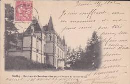 C P A---72---ENVIRONS DE BESSE SUR BRAYE---château De La Godelinière---voir 2 Scans - Autres Communes