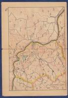 AC - KARS ARTVIN, TURKEY ENGRAVING MAP 1920S - Cartes Géographiques