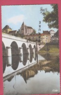 36 - LE BLANC--Le Pont Et L'Eglise St Gran--cpsm Pf - Le Blanc