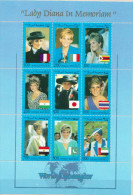 Somalia MNH Lady Diana, Probably Non-official Issue - Case Reali
