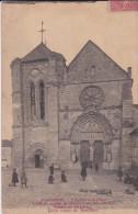 91-----LONGPONT---l'église Et La Place---voir 2 Scans - Autres Communes