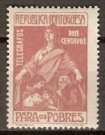 PORTUGAL   -     Télégraphes    -    1915.    Y&T N° 1 *.    Au Profit Des Pauvres. - Neufs