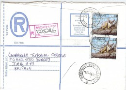 LBL33C - BOTSWANA LETTRE RECOMMANDÉE BROADHURST / JERSEY 22/5/1996 - Botswana (1966-...)