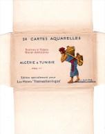 AFRIQUE - ALGERIE & TUNISIE - ILLUSTRATEUR Ed. Marcel SANDOZ DE 24 CARTES AQUARELLES DE SCENES & TYPES VOIR LES SCANS. - Illustrateurs & Photographes