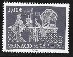 MONACO    N° 2452  -  NEUF  -  Traduction En Francais Recueil De Mille Et Une Nuits  -  2004 - Nuevos