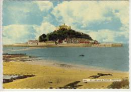 PENZANCE - ST. Michael's Mount,  Cornwall,  1959 - St Michael's Mount