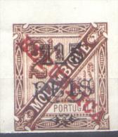 FALSO MOCAMBIQUE MOZAMBIQUE AÑO 1902 YVERT NR. 74 MNH MINT NOT HINGED NON DENTELE   FALKST RARE TBE - Mozambique