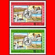 LIBYA - 1981 WHO Health Medicine Hospital Eye Doctor Ophthalmologist X-rays (MNH) - WHO