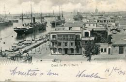 EGYPTE(PORT SAID) BATEAU PAQUEBOT - Port Said