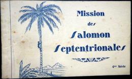 ILES SALOMON SEPTENTRIONALES CARNET DE 11 CARTES POSTALES REPRESENTANT DIVERSES SCENES ET LIEUX ETHNOLOGIE - Solomon Islands
