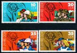 DDR - Mi 2898 / 2901 - ** Postfrisch (B) - 35 Jahre DDR III - [6] République Démocratique