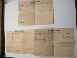 1943,ca., 3 Telegramme Aus Stettin Bzw. Heidebrink - Deutschland