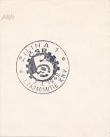 J4682 - Czechoslovakia (1949) Zilina 1: I. Session Of Regional National Committee (new Provincial Organization) - Geographie