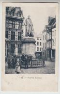 Halle, Hal, Statue Servais (pk23309) - Halle