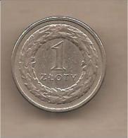 Polonia - Moneta Circolata Da 1 Zloty - 1992 - Polonia