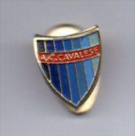 Pq1 A.C. Cavalese Calcio Distintivi FootBall Pins Soccer Pin Spilla Italy TAA - Calcio