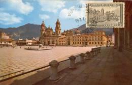 Lote PEP893, Colombia, Postal, Postcard, Tarjeta Maxima, Maximun Card, Zipaquira, Catedral, Salt Church - Colombia