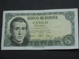 ESPAGNE  5 Cinco Pesetas  - 1951  Banco De Espana **** EN ACHAT IMMEDIAT **** - [ 3] 1936-1975 : Régence De Franco