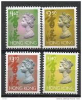 China Chine : (65) 1995 Hong Kong – R41A QEII La 6ème Issue De La 5e Série SG709c,709e,713b,713d (série Complète) - Non Classés