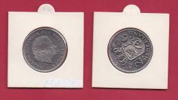 NEDERLAND, 1980, VF Coin, 2,5 Gulden, Queen Juliana,   KM 191, C9207 - [ 3] 1815-… : Kingdom Of The Netherlands