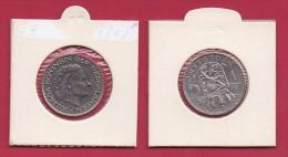NEDERLAND, 1956, VF Coin, 1 Gulden, Queen Juliana, 6,5 Gr. Silver  , C9211 - [ 3] 1815-… : Kingdom Of The Netherlands
