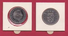 NEDERLAND, 1970, VF Coin, 2.5 Gulden, Queen Juliana, Nickel ,  C9241, - [ 3] 1815-… : Kingdom Of The Netherlands