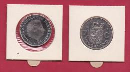 NEDERLAND, 1971, VF Coin, 2,5 Gulden, Queen Juliana, Nickel ,  C9242, - [ 3] 1815-… : Kingdom Of The Netherlands