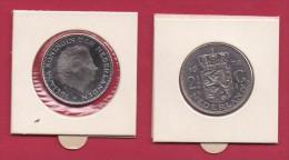 NEDERLAND, 1972, VF Coin, 2,5 Gulden, Queen Juliana, Nickel ,  C9243, - [ 3] 1815-… : Kingdom Of The Netherlands