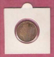 NEDERLAND, 1988, XF Coin,  5 Gulden,  Queen Beatrix,,  C9201, - 1980-… : Beatrix